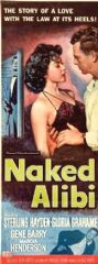 Naked Alibi 1954 DVD - Sterling Hayden / Gloria Grahame